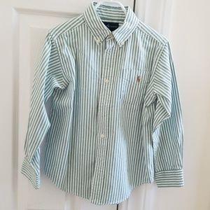 Ralph Lauren size 5 buttoned down shirt